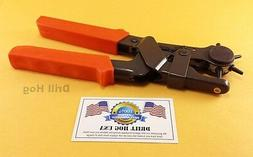 "10"" Leather Hole Punch Heavy Duty Leather Belt Hole Punch Pu"