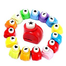LoveInUSA 10Pcs Paper Punch Scrapbooking Punches Handmade Ho