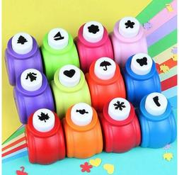 10Pcs Paper Punch Scrapbooking Punches Handmade Hole Puncher