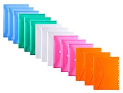LaOficina 11 Holes Semi Poly Envelope Pocket Insert Pages fo