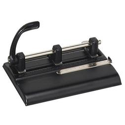 1325B Master 1000 Series Three-Hole Punch - 3 Punch Head - 4