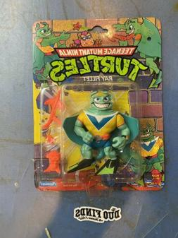 1990 Ray Fillet TMNT Playmates Vintage MOC With Hole Punch