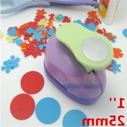1pc Circle Punch 25mm Craft Hole Puncher For Scrapbooking Pa