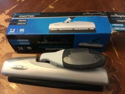 Swingline 2-7 Hole Punch, LightTouch, 20 Sheets Punch Capaci