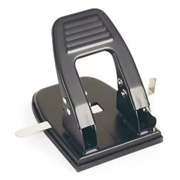 2 Hole Punch 30 Sheet Capacity Black 90092 Paper Punches Off