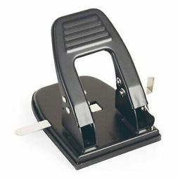 Officemate 2 Hole Punch, 30 Sheet Capacity, Black  )