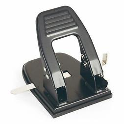 2 Hole Punch, 30 Sheet Capacity, Black  Paper Punches Office