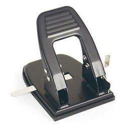Officemate 2 Hole Punch, 30 Sheet Capacity, Black