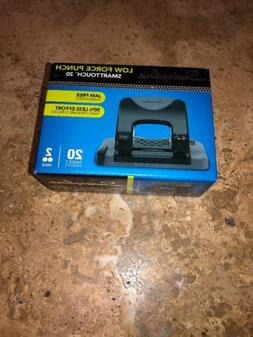 2 hole punch smarttouch 20 sheet punch