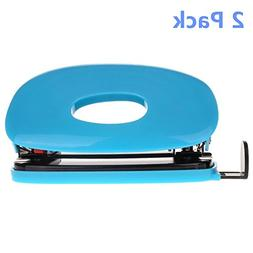 Ipienlee 2 Hole Puncher Shell Shape Punch for Up To 20 Sheet