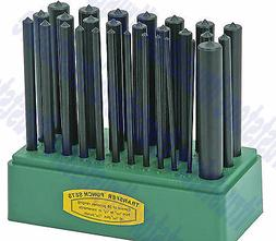 28 pc transfer punch set center round
