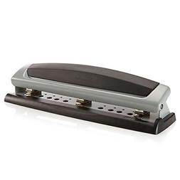 3 Hole Punch, Desktop, Punches 2-7 Holes, LightTouch, High C