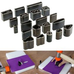 39 Shape Style Leather Craft Set One Hole Hollow Punch Cutte