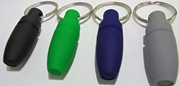 4 Eclipse Cigar Hole Punch Cutters with Key Chain. 4 Colors