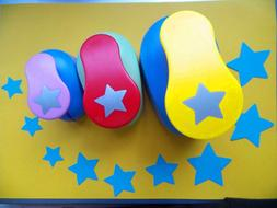 5.0cm,3.8cm,2.5cm Lucky <font><b>Star</b></font> Shape Craft