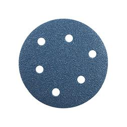 uxcell 5 Inch 6 Hole Hook and Loop Sanding Disc 60 Grits Flo