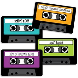 80's Retro - Paper Cassette Tape DIY Totally 1980s Party Ess