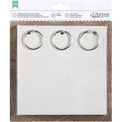 American Crafts 6.5 by 6.5-Inch 6 Pages DIY Shop Chipboard C