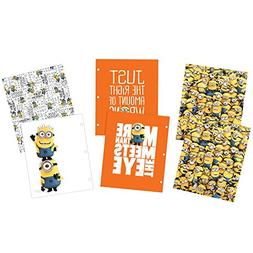 Avery Despicable Me 2-Pocket Folders, 3-Hole Punched, 100-Sh