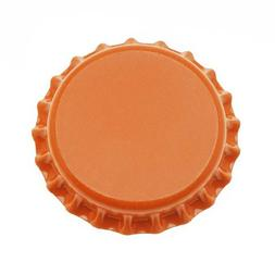 Beadaholique CROrange New Orange Crown Bottle Caps Craft Scr