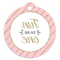 1st Birthday Girl - Fun to be One - Birthday Party Favor Gif