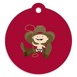 Big Dot of Happiness Little Cowboy - Western Baby Shower or