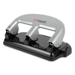 PaperPro -40-Sheet Traditional Three-Hole Punch, Rubber Base