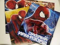 Set of 4 - The Amazing Spider-Man 2 - Portfolio Folders Scho