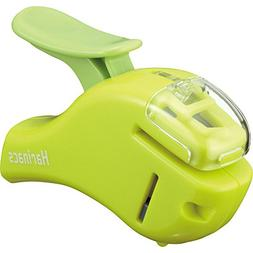 "Universal : Eight-Sheet Handheld One-Hole Punch, 1/4"" Hole,"