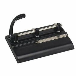 Master Adjustable 32-Sheet 3-Hole Punch, 11/32 Inches Punch