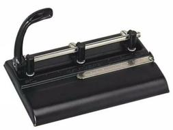 """Master Adjustable 32Sheet 3Hole Punch,11/32 """" Punch Heads"""