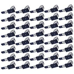 YiwerDer Adjustable Cable Clips 40 Pieces, 3M Self-Adhesive