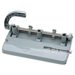 Skilcraft Adjustable Heavy-Duty 3-Hole Punches