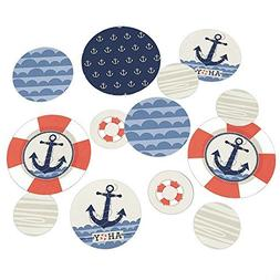 Big Dot of Happiness - Ahoy -Nautical - Baby Shower or Birth