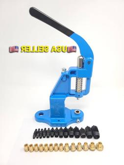 ALL In ONE Hand Press Machine + 20 Dies+ 14 Hole Punch Tool