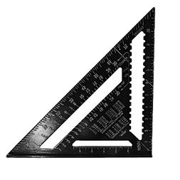 CoCocina 12inch Aluminum Alloy Speed Square Rafter Triangle