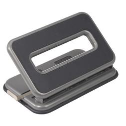 Officemate Auto-Centering 2-3 Hole Adjustable Punch, 32 Shee