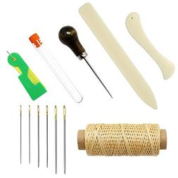 Meetory 12 Pcs Bookbinding Tools Set,Craft DIY Hand Stitchin