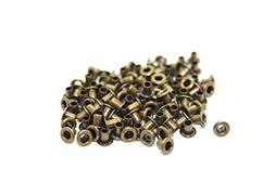 100 X 3Mm Bronze Eyelets For Clothing And Leather Crafts - G