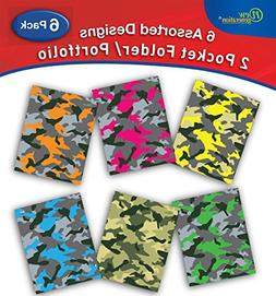 New Generation - Camouflage - 2 Pocket Folders / Portfolio 6