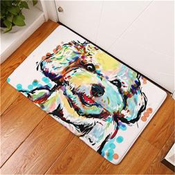 cartoon lovely dog painting dogs
