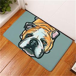 CarPet New Cartoon Style Lovely Dog Painting Dogs Print Anti
