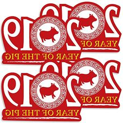 Chinese New Year - 2019 Decorations DIY Year of the Pig Part
