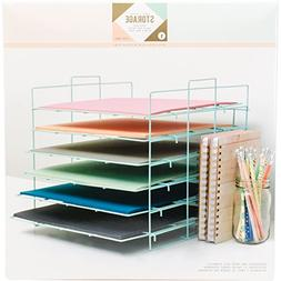 American Crafts – Crate Paper Desktop Storage Rack – 12""
