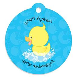 Custom Ducky Duck - Personalized Baby Shower or Birthday Par