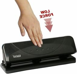 Eagle Desktop 3 Hole Punch, Low Force, 20 Sheets Capacity,