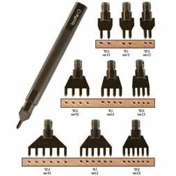 Tandy Leather Diamond Hole Chisel Set 3009-00
