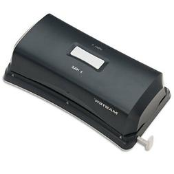 MASTER EP323 15-Sheet Duo Electric/Battery Punch  Two- and T