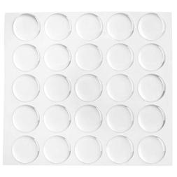 "Hipgirl 1"" 200-piece Epoxy Dome Stickers Dots For Sealing Bo"