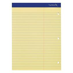 Ampad 20245 Double Sheets Pad, Law Rule, 8 1/2 x 11 3/4, Can